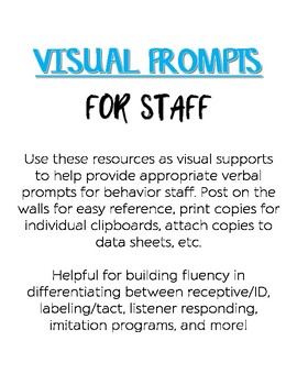Visual Prompts for Behavior Staff