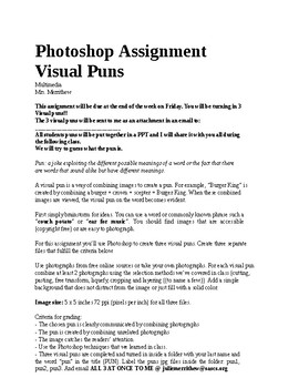 Visual Puns in Photoshop