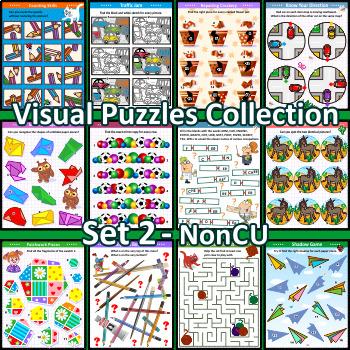 Visual Puzzles Collection, Set 2, Non-CU