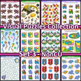 Visual Puzzles Collection, Set 3, Non-CU