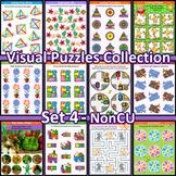 Visual Puzzles Collection, Set 4, Non-CU