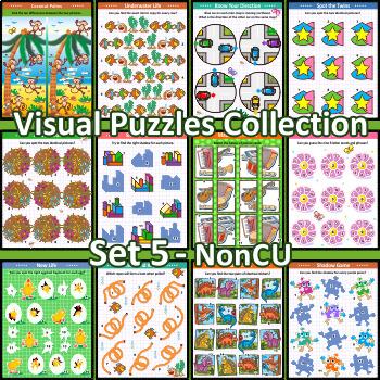 Visual Puzzles Collection, Set 5, Non-CU
