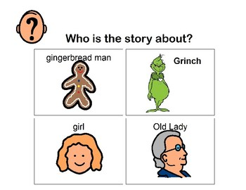 "Visual Question Book To go with the story ""How the Grinch Stole Christmas"""