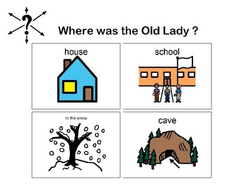"Visual Question Book To go with the story ""The Old Lady Swallowed a Bell"""