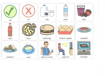 Visual Questions for Students with Autism