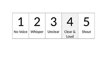 Visual Rating Scale Voice Disorders