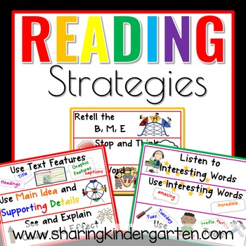 Visual Reading Strategy Cards
