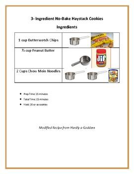 Visual Recipe: 3 Ingredient No-Bake Haystack Cookies