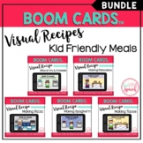 Visual Recipe BOOM Cards™ BUNDLE | KID FRIENDLY MEALS | Speech Therapy