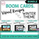 Visual Recipe BOOM Cards™ BUNDLE | WINTER THEME | Speech Therapy