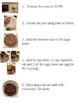Visual Recipe - Cheesecake Brownies