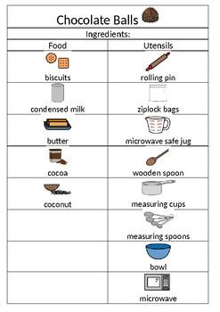 Visual Recipe: Chocolate Balls
