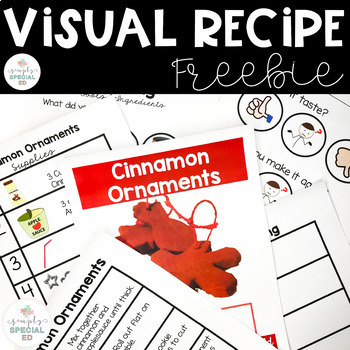 Visual Recipe: Cinnamon Ornaments FREEBIE