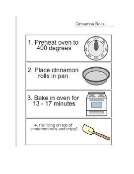 Visual Recipe: Cinnamon Rolls