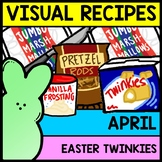 Visual Recipe - Easter - Twinkie Peeps Car - April - Autism - Life Skills