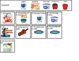 Visual Recipe - Fruit Dip