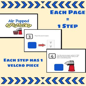 Visual Recipe Interactive Cooking Lesson: Popcorn