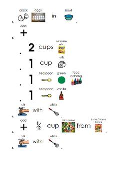 Visual Recipe: Lucky Leprechaun Pancakes