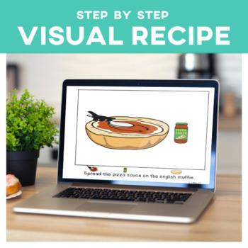 Visual Recipe: Pizza Special Education SymbolStix Editable