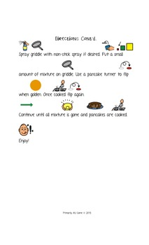 Visual Recipe: Pumpkin Pancakes