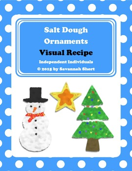 Visual Recipe: Salt Dough Christmas Ornaments