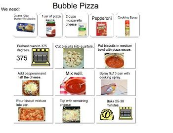 Visual Recipe for Bubble Pizza