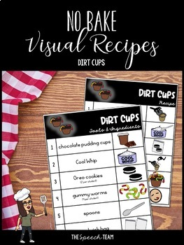 Visual Recipe for Dirt Cups