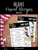 No Bake Visual Recipe for Dirt Cups