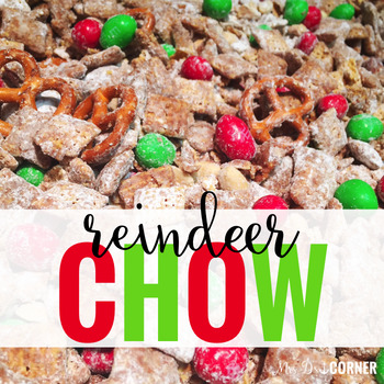 Visual Recipe for Reindeer Chow FREE