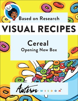 Free Visual Recipe: Cereal: for Youths with Autism/Special Ed Classroom