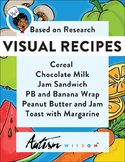 Six Visual Recipes for Youths with Autism/Special Ed Class