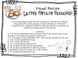 Visual Recipe for the Special Ed Classroom - Latkes (Potato Pancakes)
