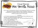 Visual Recipe for the Special Ed Classroom - Mini Tortilla Pizzas