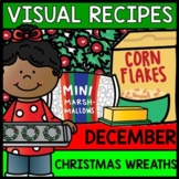 Visual Recipes - Life Skills - Christmas Wreaths - Autism - December - Cooking
