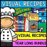 Visual Recipes: YEAR LONG BUNDLE - Monthly Recipes for the ENTIRE YEAR