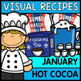 Visual Recipes: Hot Cocoa {Autism} {January} {Cooking} {Life Skills}