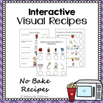 Visual Recipes- Interactive Cooking