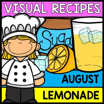 Visual Recipes: Lemonade  {Autism} {Summer} {Cooking} {Lif