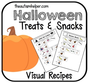 Visual Recipes for Children with Autism: Halloween Treats