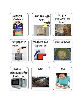 Visual Recipes for Homeschool or Special Needs
