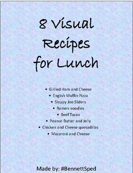 Visual Recipes for Lunch