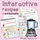 Visual Recipes for Milkshakes and Smoothies: Interactive Cooking Lessons