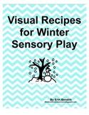 Visual Recipes for Winter Sensory Play