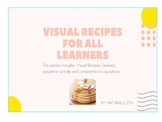 Visual Recipes for all learners: Pancakes (editable)