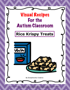 Visual Recipes for the Autism Classroom - Rice Krispy Treats