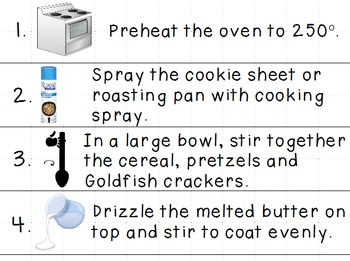 Visual Recipes for the Special Ed Classroom: Mega Bundle Part 1!