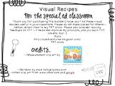 Visual Recipes for the Special Ed Classroom: Mega Bundle Part 1!