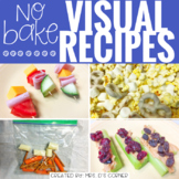 January Visual Recipes with REAL Pictures ( for special education )