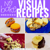 April Visual Recipes with REAL pictures ( for special education )