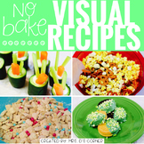 March Visual Recipes with REAL pictures ( for special education )